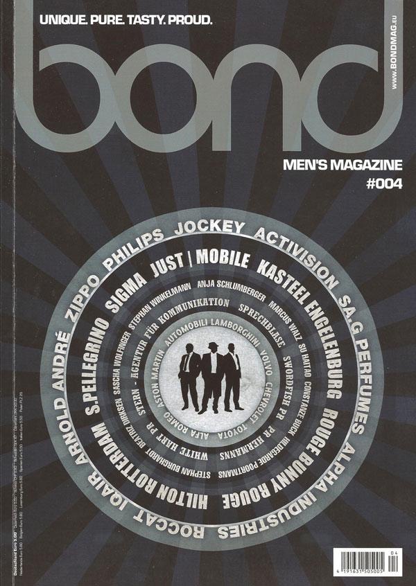 Bond Magazine Onlineshop Männerpflege