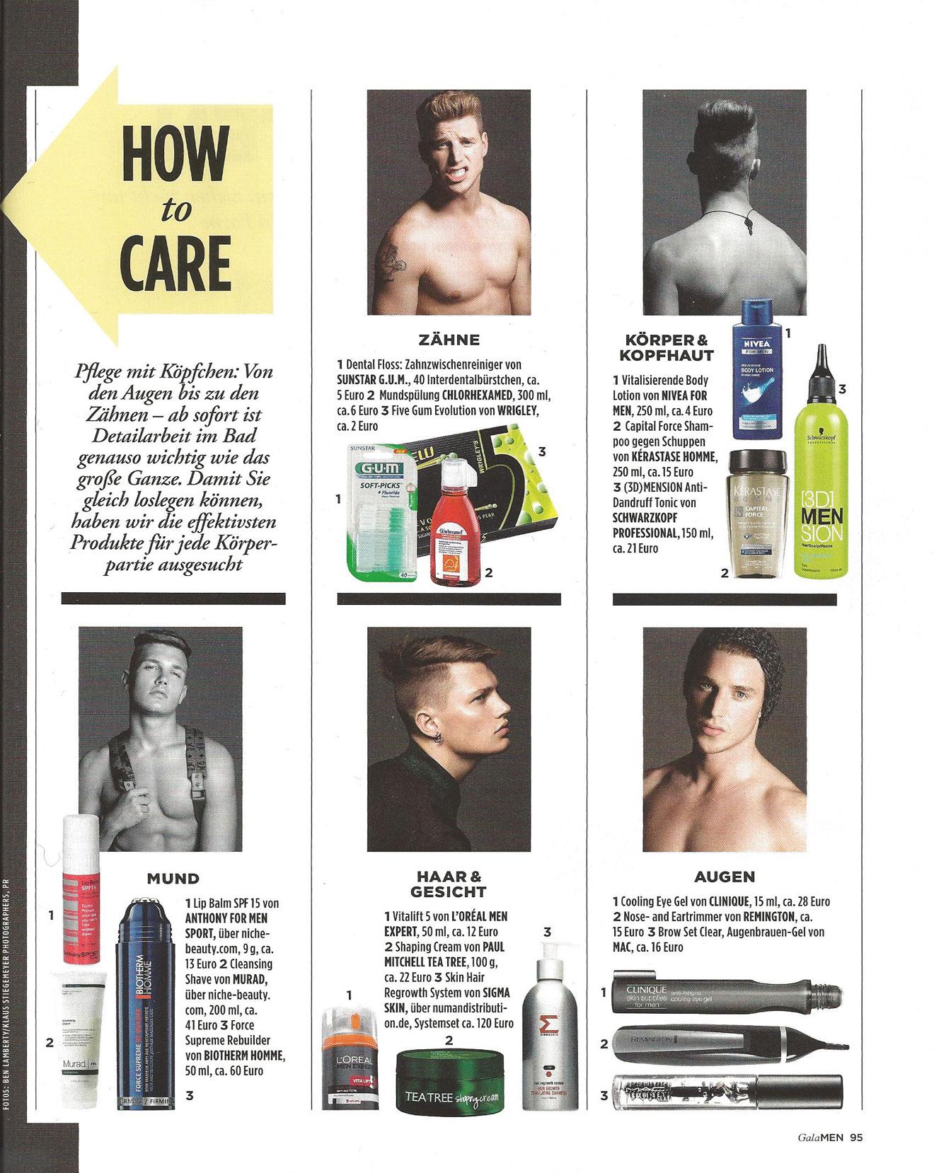 Sigma Skin Shampoo für Männer bei Groominglab.de
