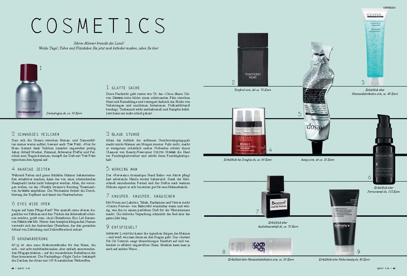 Cultus Homme Gesichtspeeling und 66°30 Organic Skincare Nachtpflege für Männer