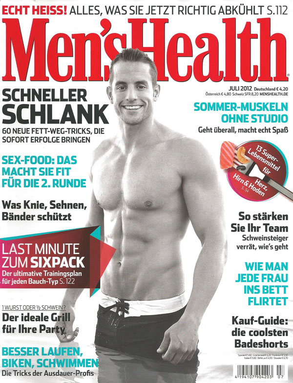 Men's Health Sommerpflege