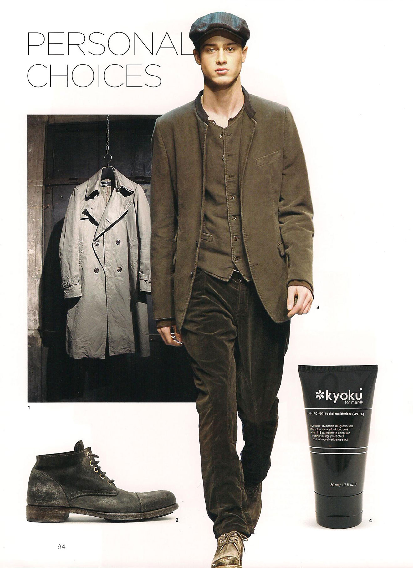 Kyoku for Men Face Moisturizer Feuchtigkeitspflege für Männer