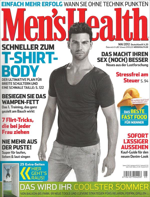 Men's Health Haarpflege und Styling für Männer