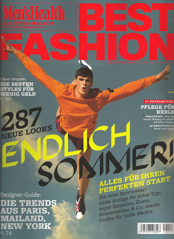 Men's Health Best Fashion Sommerpflege