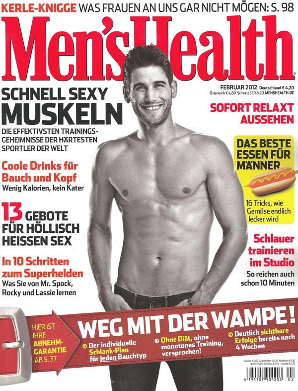 Men's Health Gesichspflege und Gesichtsreinigung