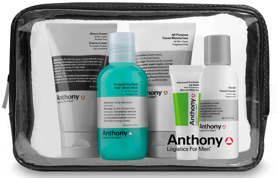 Anthony Skincare Travel Set