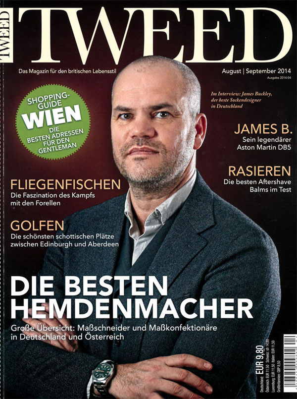 Tweed Magazine empfiehlt Aftershaves